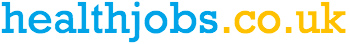 Healthjobs.co.uk logo takes you to the home page to search for jobs in health care